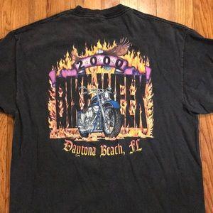 Vintage Bike Week 2000 Daytona Beach, FL T-shirt